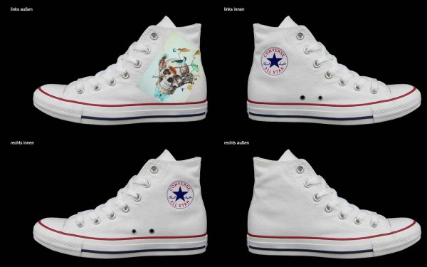Schuh (Design: 3184 )Converse High