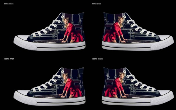 Schuh (Design: 3189 )Sneaker High