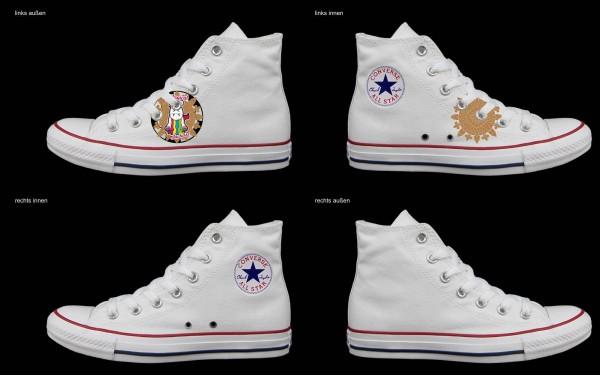 Schuh (Design: 2417 )Converse High