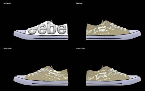 Schuh (Design: 4867 )Sneaker Low