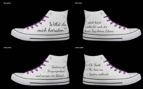 Schuh (Design: 4515 )Sneaker High
