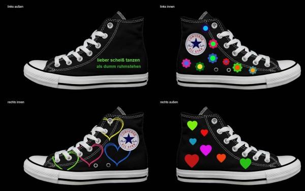 Schuh (Design: 5024 )Converse High