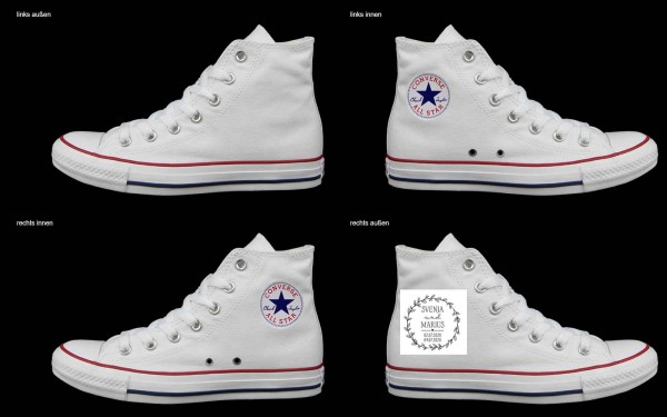 Schuh (Design: 7275 )Converse High