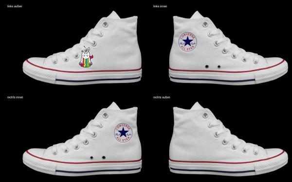 Schuh (Design: 5675 )Converse High