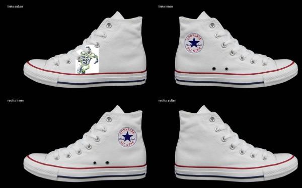 Schuh (Design: 4253 )Converse High