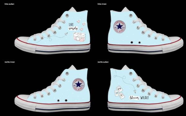 Schuh (Design: 7123 )Converse High