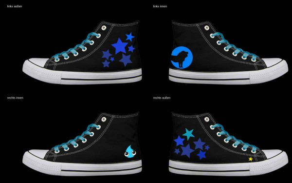 Schuh (Design: 4189 )Sneaker High