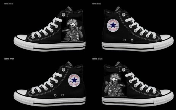 Schuh (Design: 7262 )Converse High