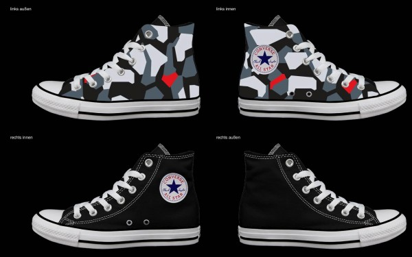 Schuh (Design: 4216 )Converse High