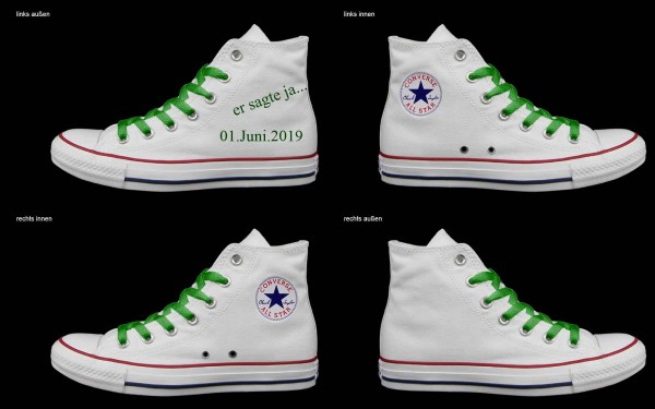 Schuh (Design: 4809 )Converse High