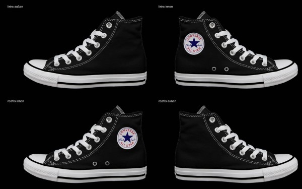 Schuh (Design: 8032 )Converse High