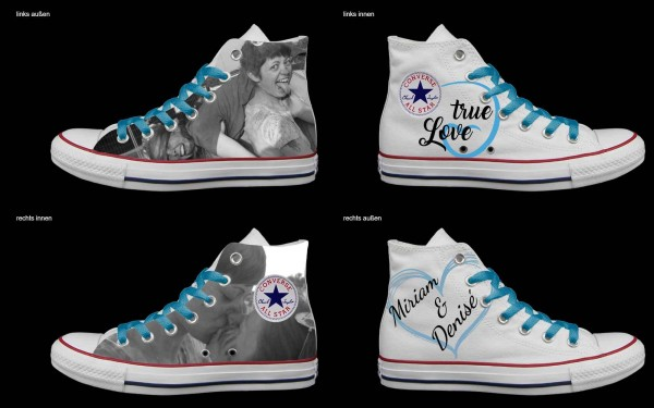 Schuh (Design: 7845 )Converse High