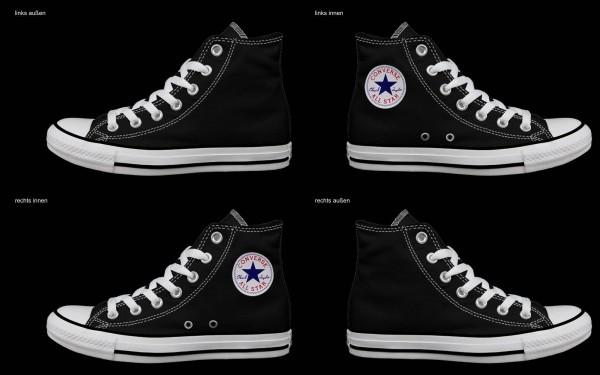 Schuh (Design: 7640 )Converse High
