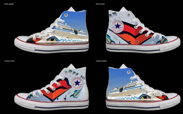 Schuh (Design: 3511 )Converse High