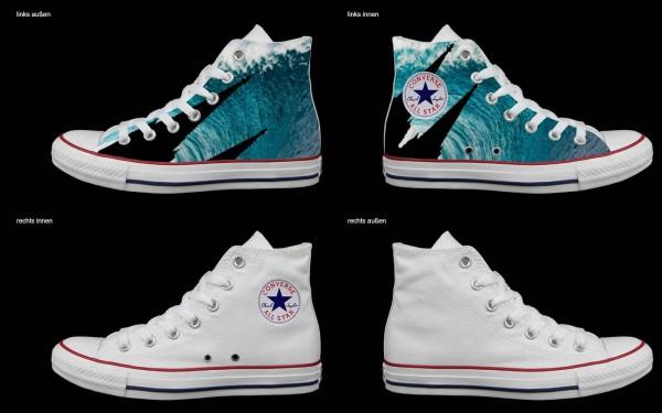 Schuh (Design: 7156 )Converse High