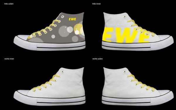 Schuh (Design: 7349 )Sneaker High