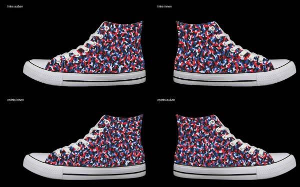 Schuh (Design: 7754 )Sneaker High