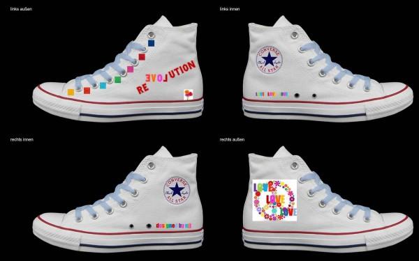 Schuh (Design: 7855 )Converse High