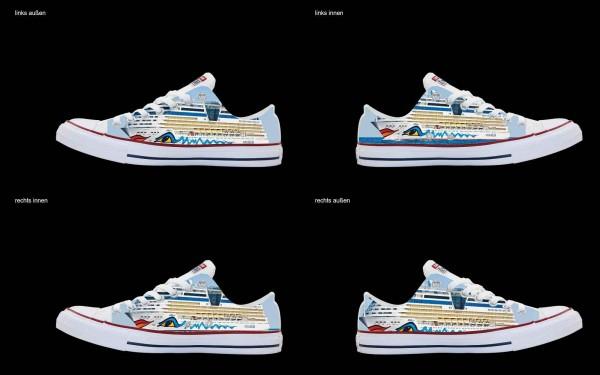 Schuh (Design: 4121 )Converse Low