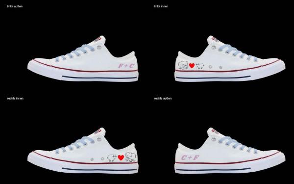 Schuh (Design: 5481 )Converse Low