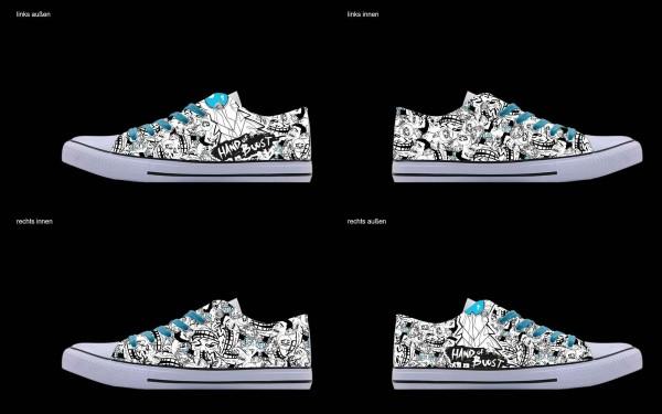 Schuh (Design: 4787 )Sneaker Low