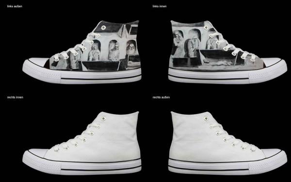 Schuh (Design: 7306 )Sneaker High