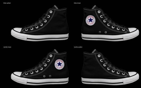 Schuh (Design: 6633 )Converse High
