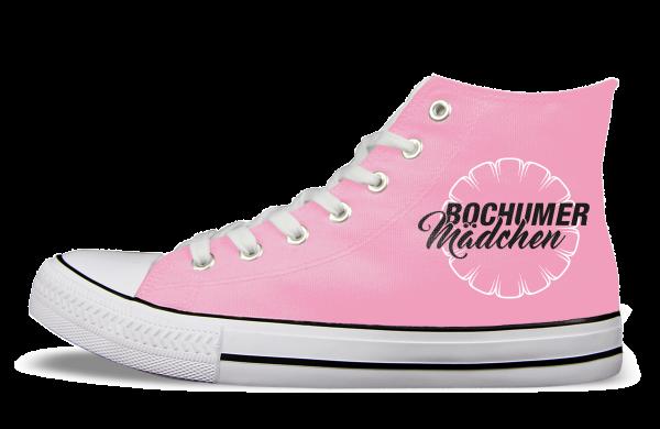 VfL Bochum Mädchen Sneaker links Aussen rosa