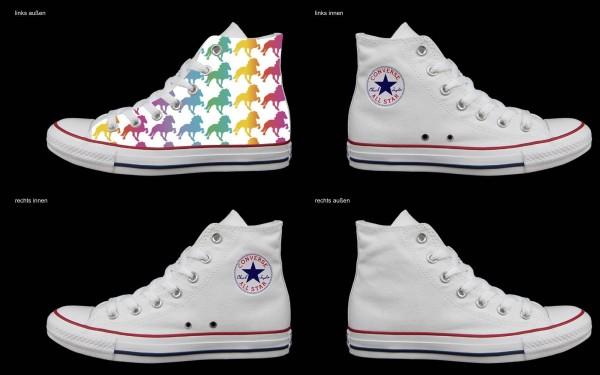 Schuh (Design: 3481 )Converse High