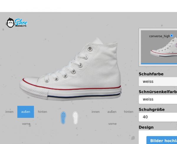Schuh (Design: 14515) converse_high
