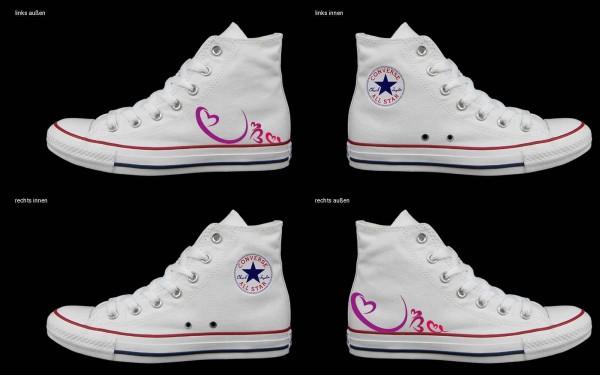 Schuh (Design: 5025 )Converse High