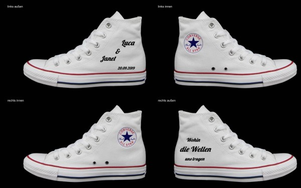 Schuh (Design: 5380 )Converse High