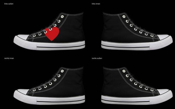Schuh (Design: 8324 )Sneaker High