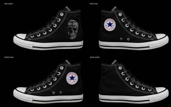 Schuh (Design: 7837 )Converse High