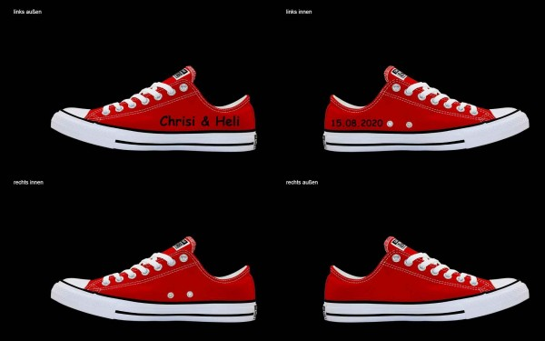 Schuh (Design: 4525 )Converse Low