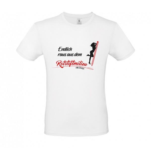 Herren Shirt White - ROTSTIFTMILIEU