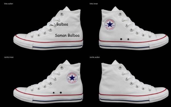 Schuh (Design: 7996 )Converse High