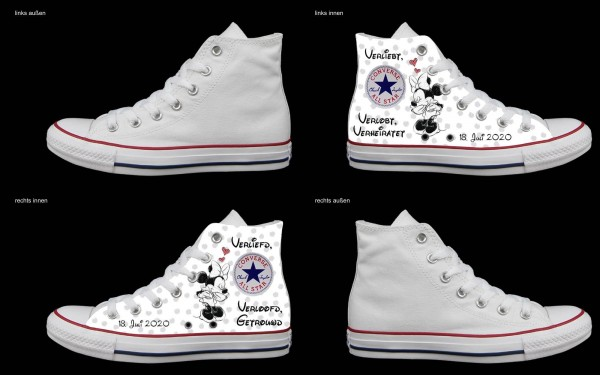 Schuh (Design: 7125 )Converse High