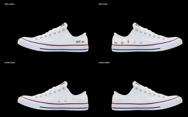 Schuh (Design: 7696 )Converse Low