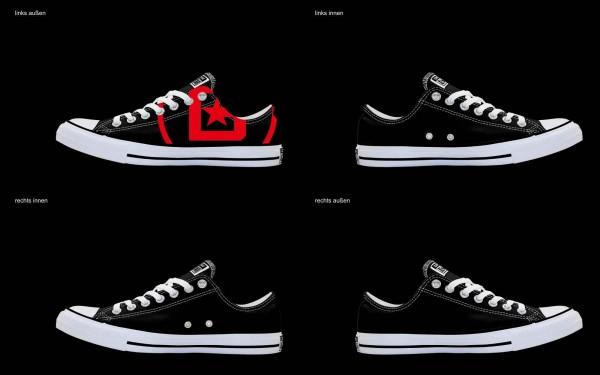 Schuh (Design: 6622 )Converse Low