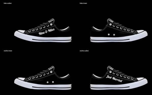 Schuh (Design: 5776 )Converse Low