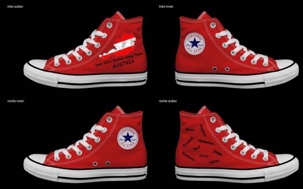 Schuh (Design: 7885 )Converse High