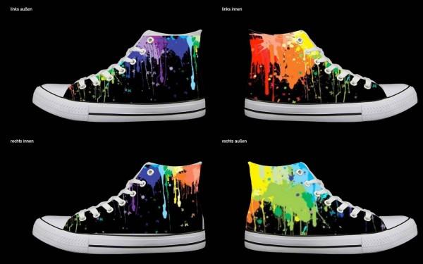 Schuh (Design: 7836 )Sneaker High