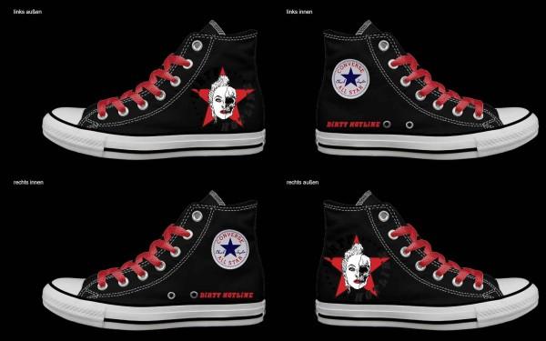 Schuh (Design: 8159 )Converse High