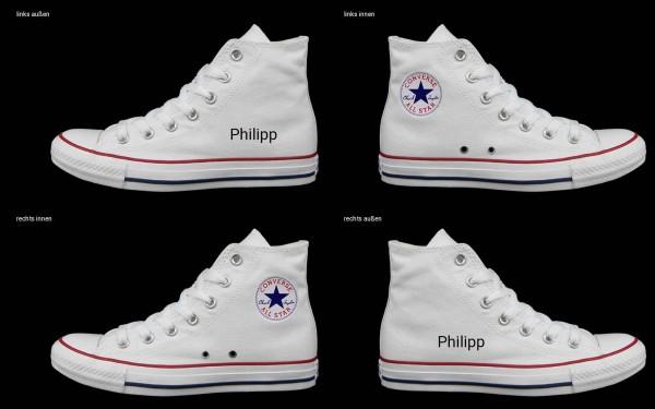 Schuh (Design: 4681 )Converse High