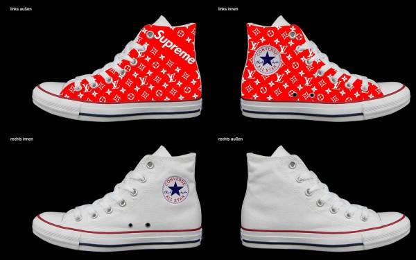 Schuh (Design: 7295 )Converse High