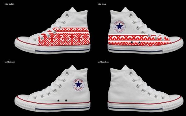 Schuh (Design: 7712 )Converse High
