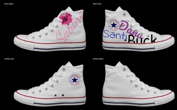 Schuh (Design: 7654 )Converse High