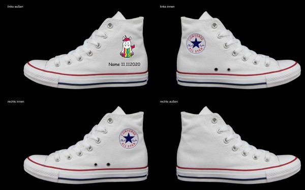 Schuh (Design: 7259 )Converse High