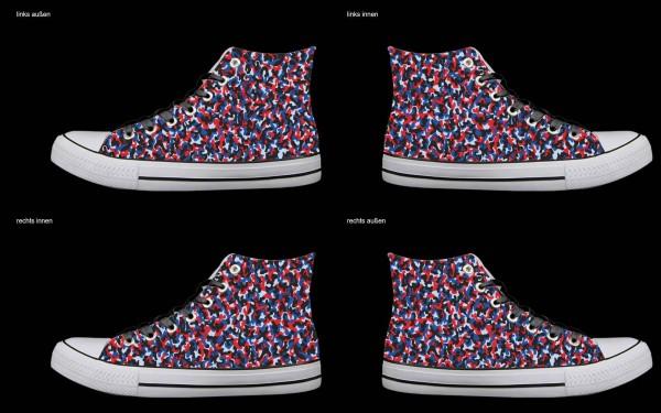 Schuh (Design: 7755 )Sneaker High